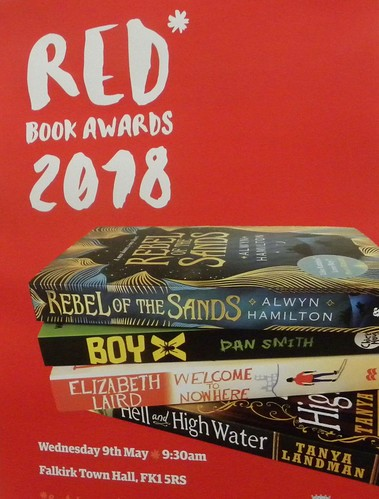 RED book awards 2018