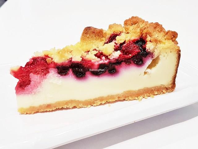 Blueberry & Raspberry Cheesecake