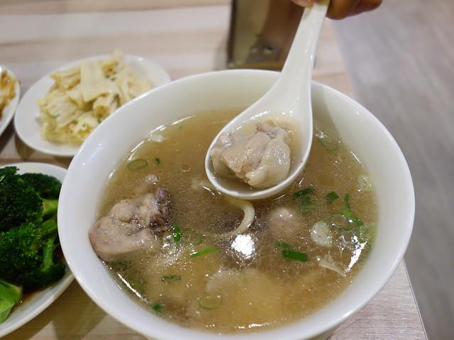 剝皮辣椒雞湯 (NTD$60)@桃園一涴川麵廚坊