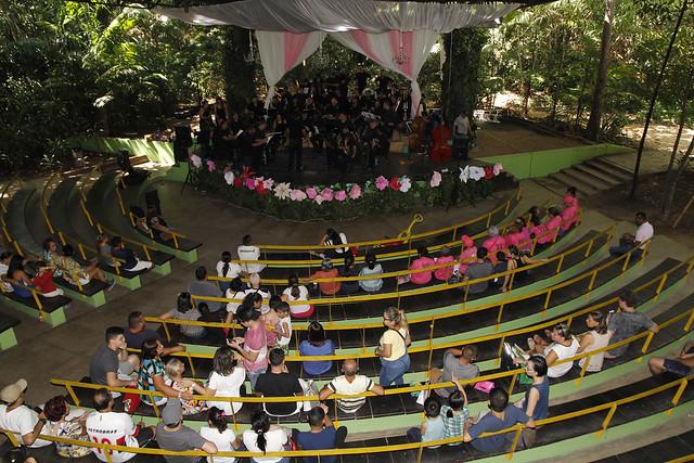 13.05.18- Mães são homenageadas com concerto no Parque do Mindu