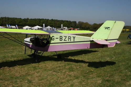 G-BZRY Rans S.6 [PFA 204-13666] Popham 050518