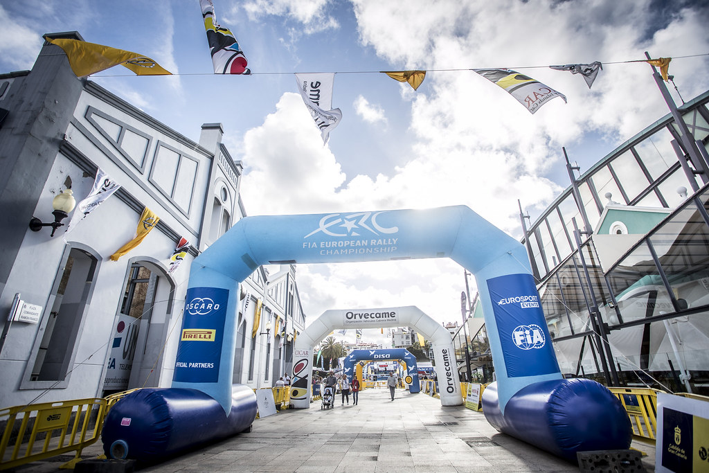 ERC, during the 2018 European Rally Championship ERC Rally Islas Canarias, El Corte Inglés,  from May 3 to 5, at Las Palmas, Spain - Photo Gregory Lenormand / DPPI