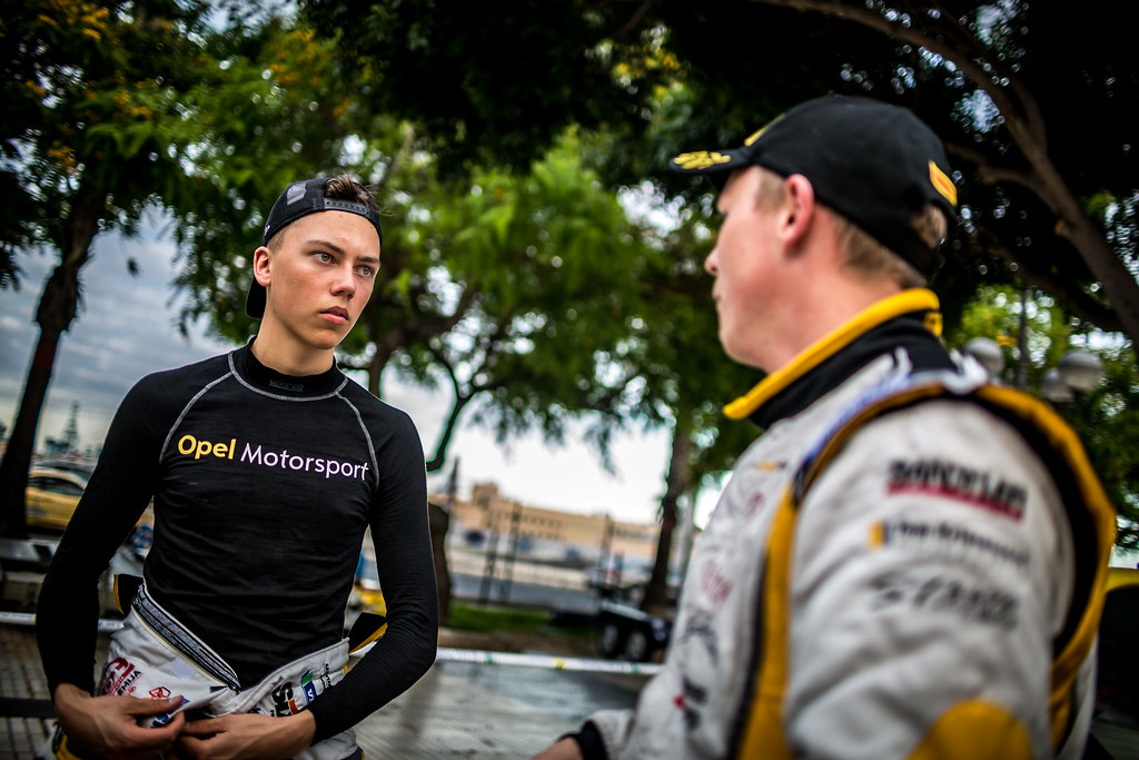 SESKS Martin, Adac Opel Rallye junior team, OPEL ADAM R2, portrait during the 2018 European Rally Championship ERC Rally Islas Canarias, El Corte Inglés,  from May 3 to 5, at Las Palmas, Spain - Photo Thomas Fenetre / DPPI