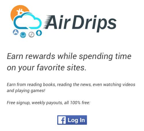 Registro en AirDrips