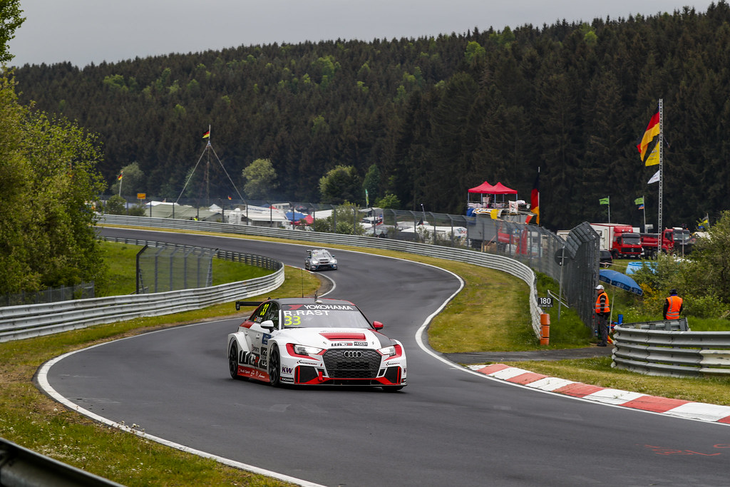 33 RAST Rene (GER), Audi Sport Leopard Lukoil Team, RS 3 LMS WTCR, action during the 2018 FIA WTCR World Touring Car cup of Nurburgring, Germany from May 10 to 12 - Photo Florent Gooden / DPPI