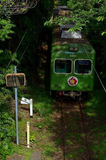 Choshi Erectric Railway, Nikon D800, AF-S Nikkor 70-200mm f/4G ED VR
