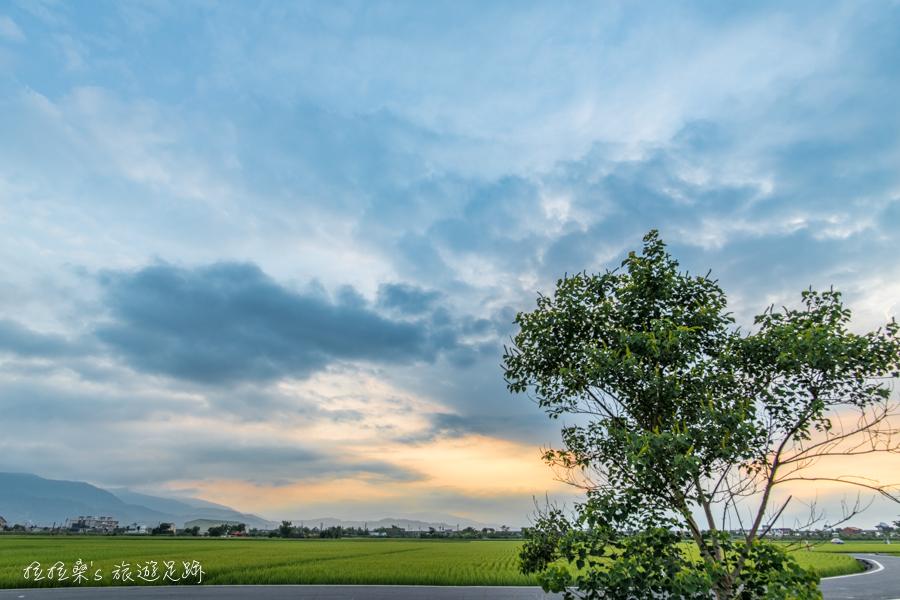 宜蘭三奇伯朗大道,季節限定的青綠稻浪,靜賞稻田逐漸由翠綠轉為金黃,每一幕都是最好拍的鄉間美景