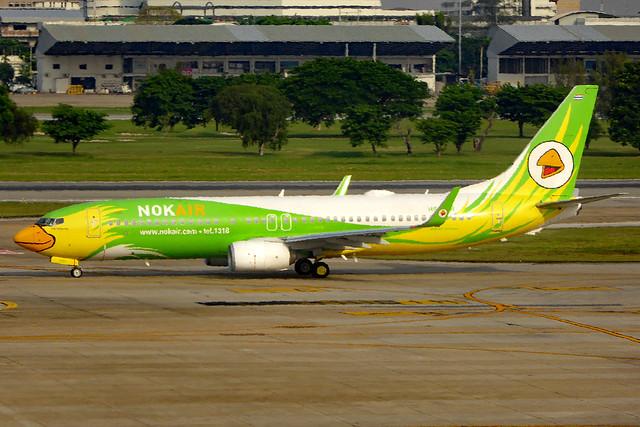 HS-DBR Boeing 737-86N/W NOK  DMK