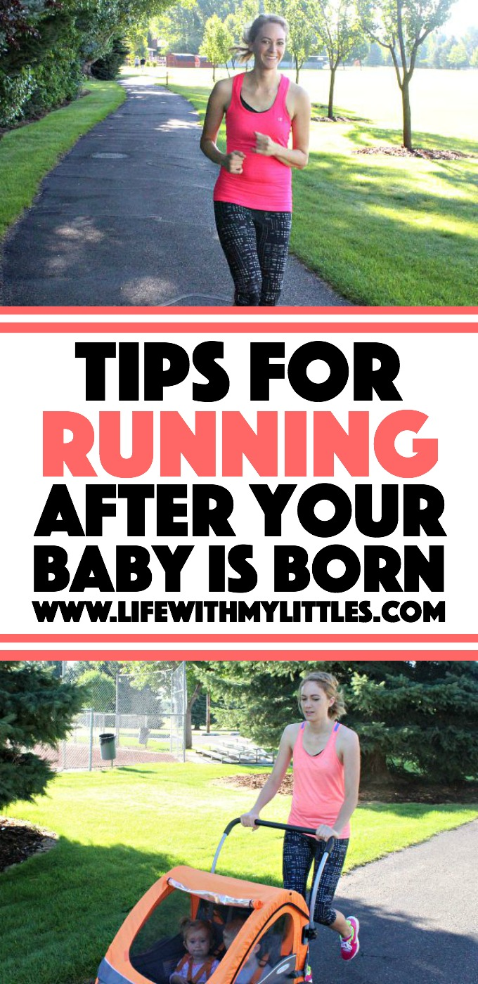 Tips for running after your baby is born. Great for running veterans and new runners alike! Plus a printable running calendar!