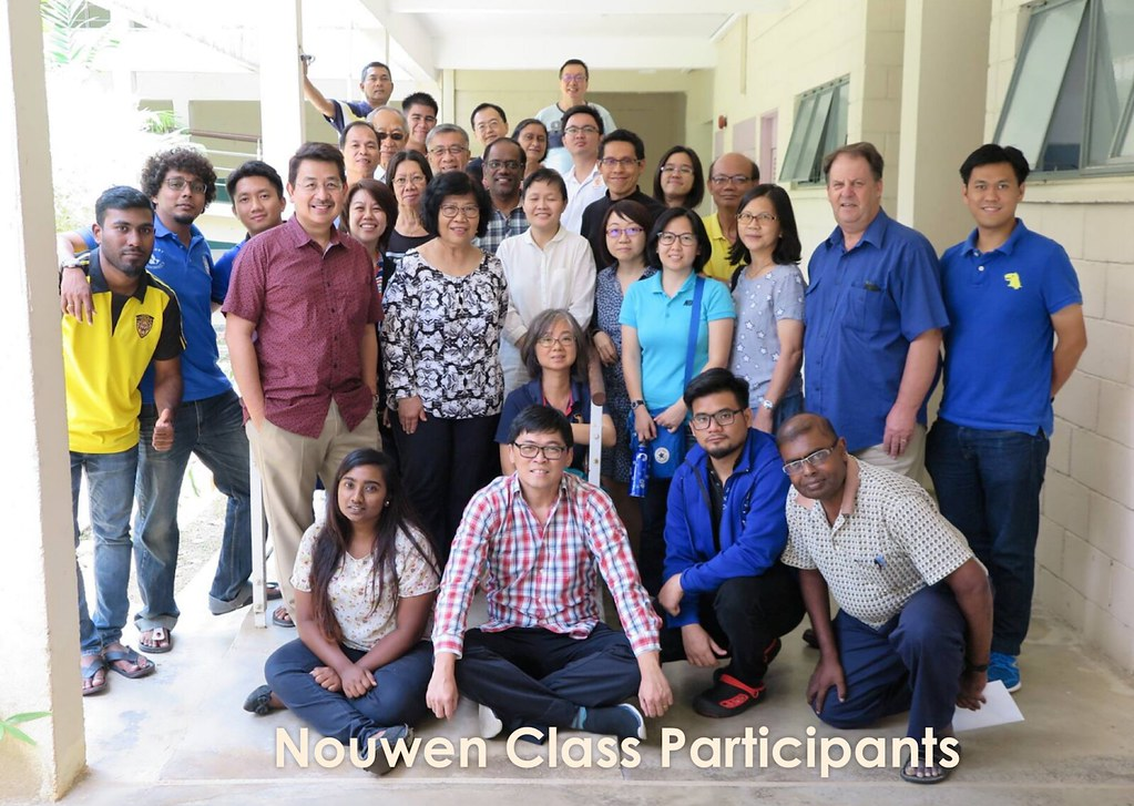 Nouwen Intensive Class at Seminari Theoloji Malaysia (April 10-13, 2018)