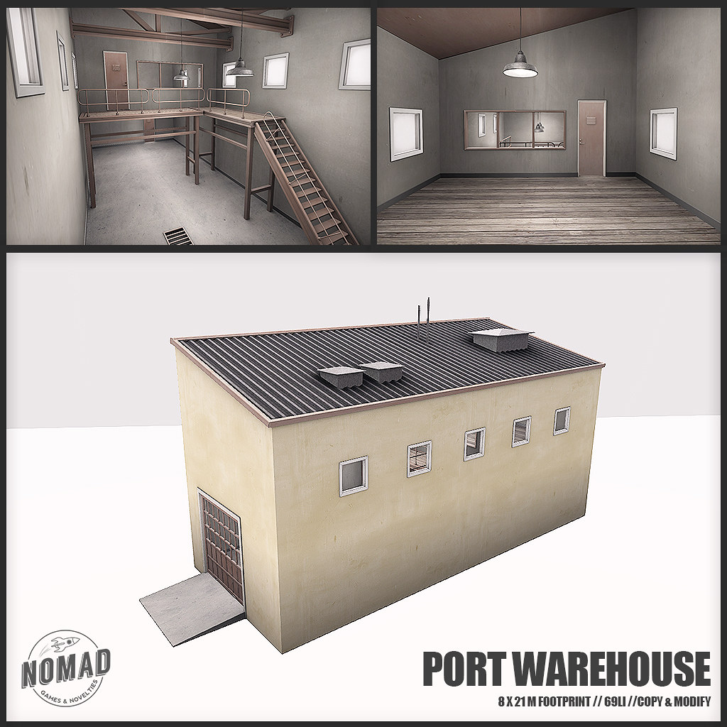 NOMAD // ALASKAN PORT // Port Warehouse Yellow - TeleportHub.com Live!
