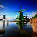 Zaanstad Windmill, Netherlands.
