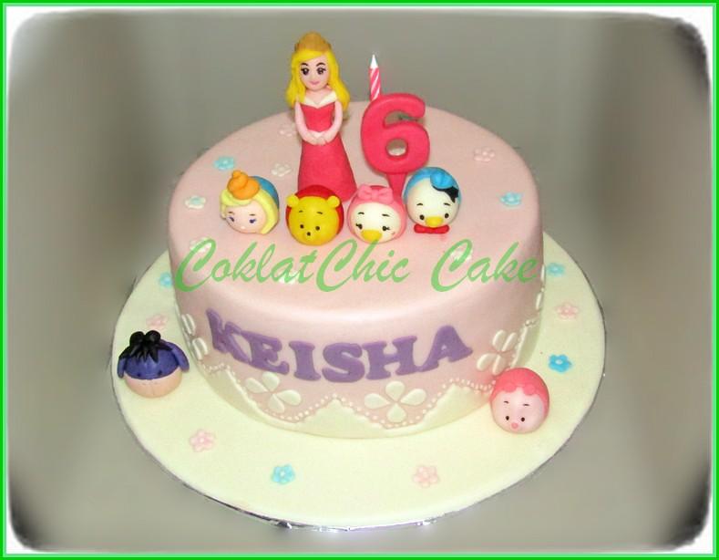 Cake disney Princes and TsumTsum KEISHA 20 cm