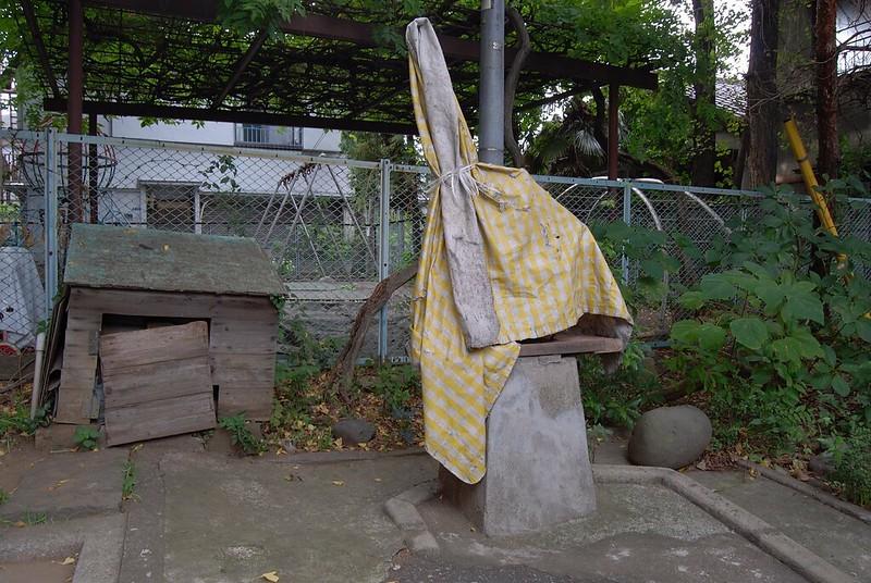 神楽坂の井戸ポンプ