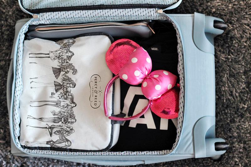 Kipling Suitcase Open