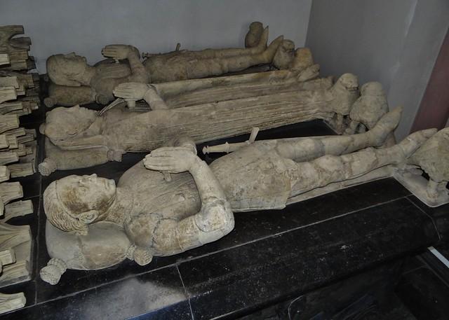 ca. 1443-1459 - 'Johann II von Loon-Heinsberg (+1438), wife Margaretha van Gennep (+1419) & son Johann III von Loon-Heinsberg (+1443)', St. Gangolfkirche, Heinsberg, Nordrhein-Westfalen, Germany