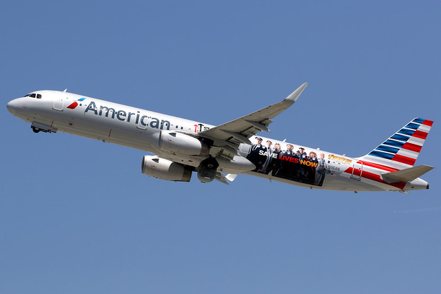 American Airlines | Airbus A321-200 | N116AN | Los Angeles International