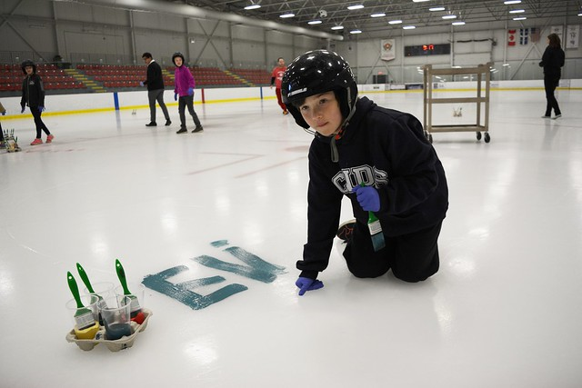 Paint the Ice
