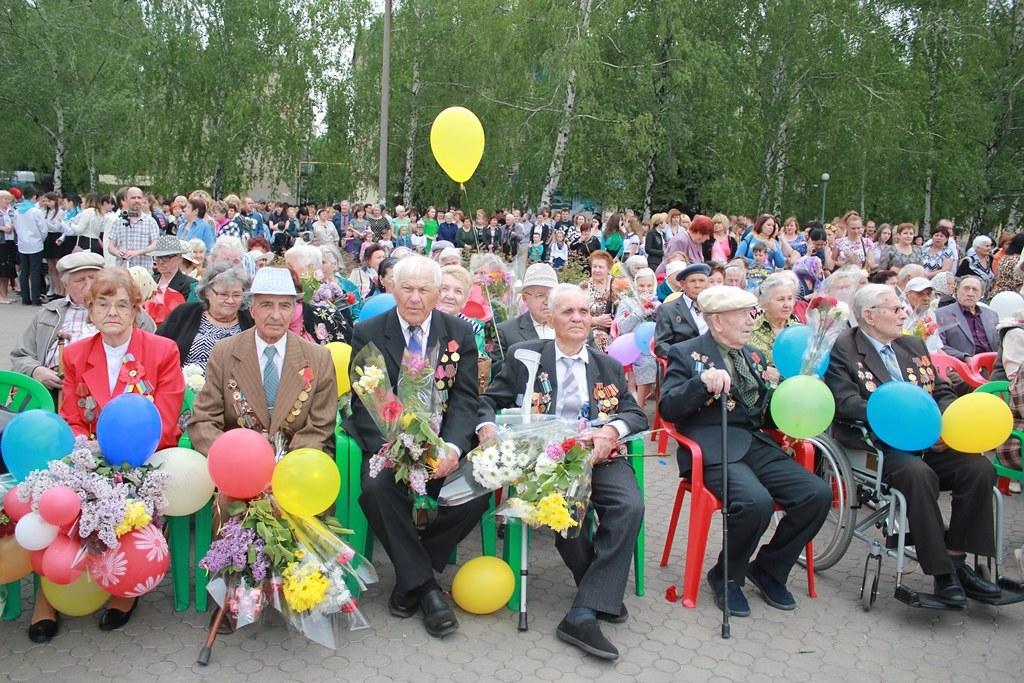 День Победы в Першотравенске