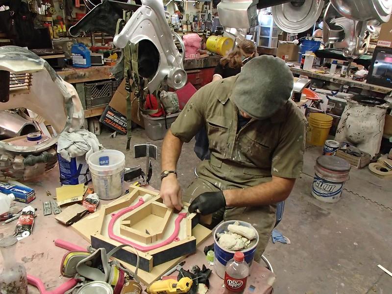 Ian Making Mold Box