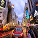 Colorful Shibuya in Tokyo, Japan by ` Toshio '