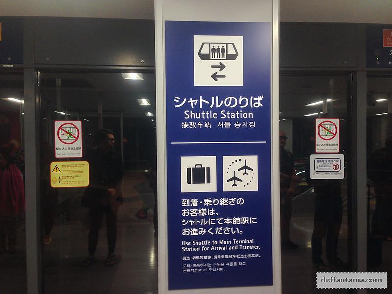 9 Hari Babymoon ke Jepang - KIX Shuttle Station