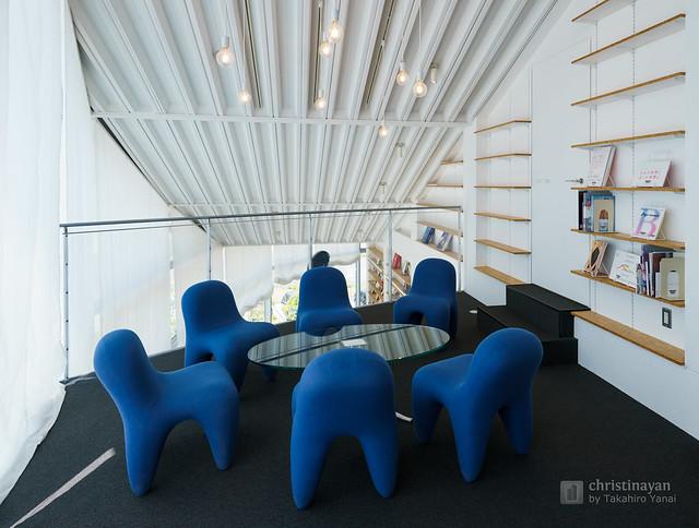 Meeting space of Art Museum & Library, Ota (太田市美術館・図書館)
