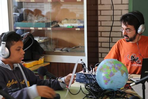 Tallers radiofònics a l'Institut Joanot Martorell d'Esplugues de Llobregat