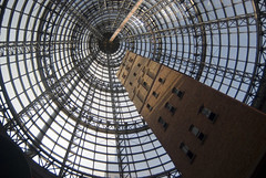 Shot Tower in Melbourne Central Shopping Centre