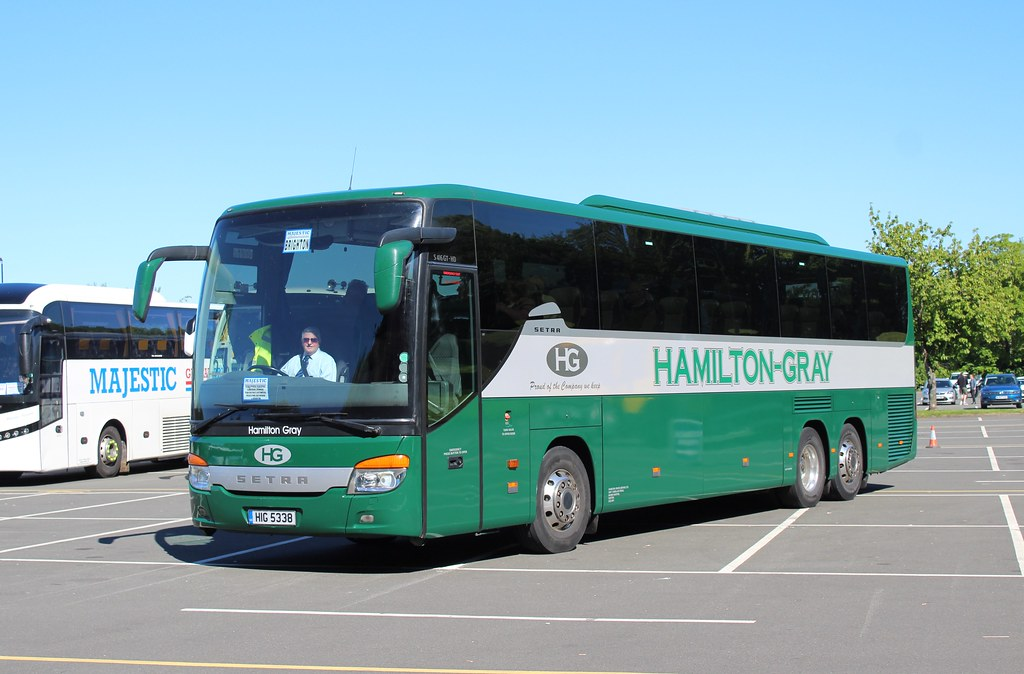 by Hamilton Gray -Exeter HIG5338 in Gordano services on the M5 at Bristol. | by