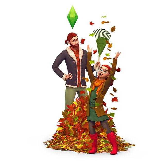 Novas Imagens e Renders do The Sims 4 Estações