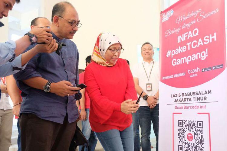 Telkomsel Hadirkan 'Kencleng Digital' di Masjid