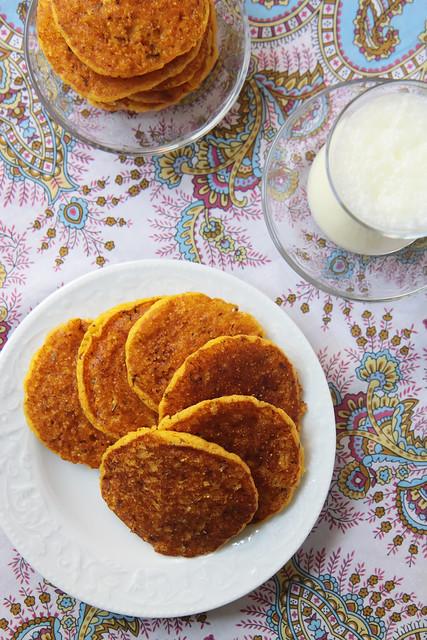 Savory Corn Pancakes by Olga Tikhonova