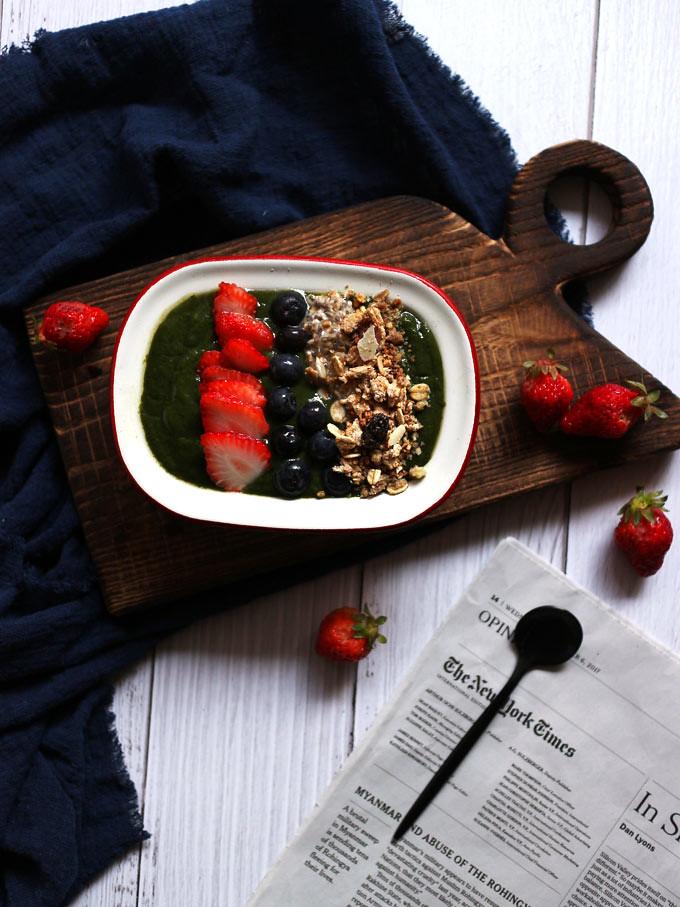綠果昔碗 green-smoothie-bowl (1)