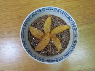 Snickerdoodle Quinoa Bowl with Apple Slices