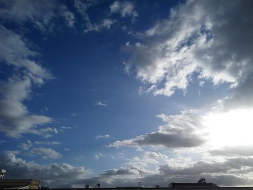 Las nubes sobre mi cabeza