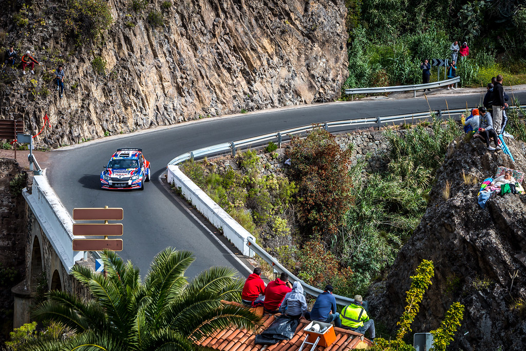 21 GRZYB Grzegorz, WORBEL Jakub, team Rufa Sport, Skoda Fabia R5, action during the 2018 European Rally Championship ERC Rally Islas Canarias, El Corte Inglés,  from May 3 to 5, at Las Palmas, Spain - Photo Thomas Fenetre / DPPI