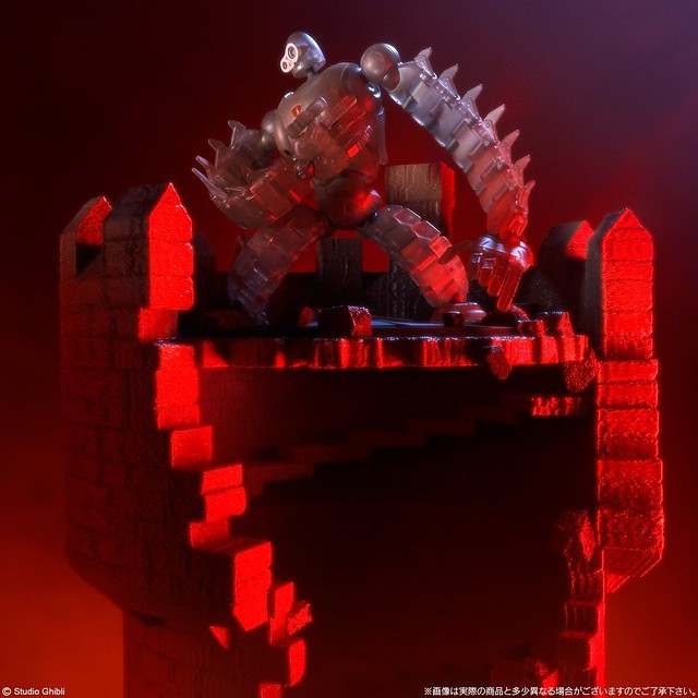 想造畫廊《天空之城》機器人兵(MECHANICAL CLEAR)&穆斯卡 Full Action Ver. 想造ガレリア ロボット兵&ムスカ【PB、橡子共和國限定】