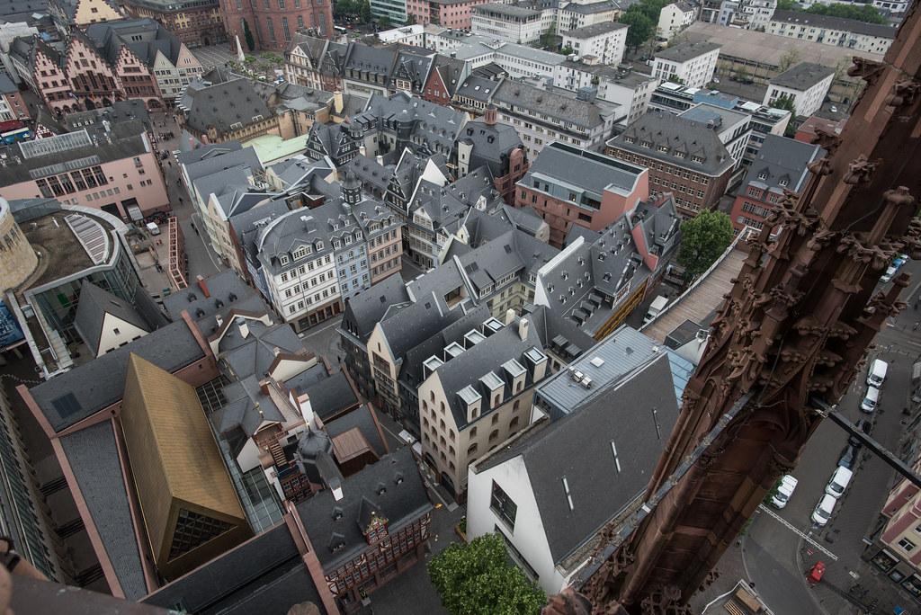 2018 die neue Altstadt von oben