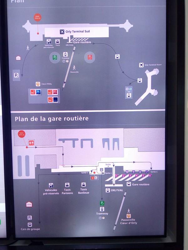Транспорт аэропорт Орли (ORY) - Париж