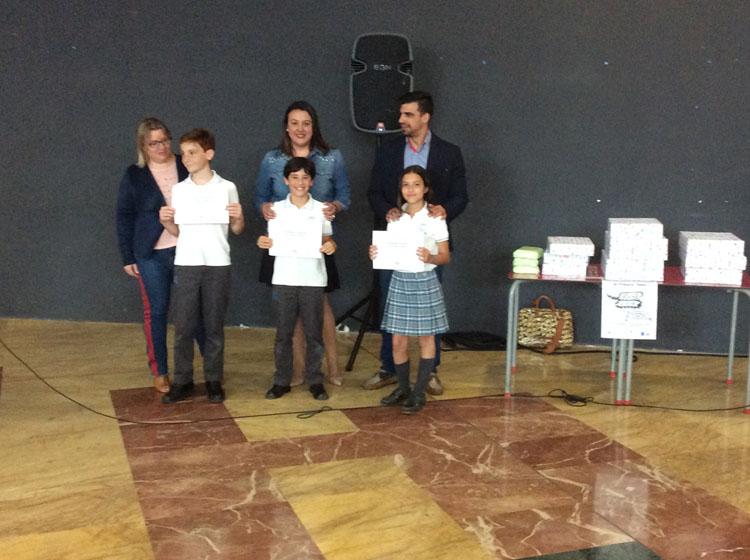 Premios Olimpiada matemática1