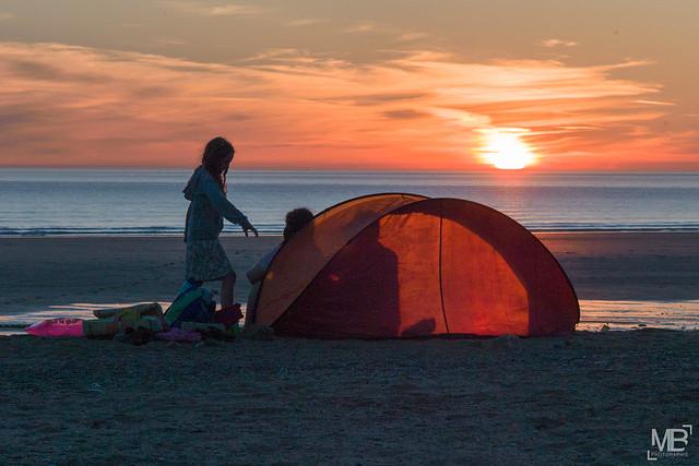 sunset sous la tente  LM9 1000003