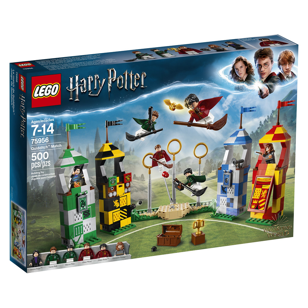 75956 Harry Potter Quidditch Box Front