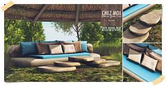 Tulum Rustic Couch CHEZ MOI