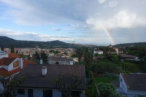 Argentona after rain