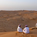Small photo of Omani desert sunset