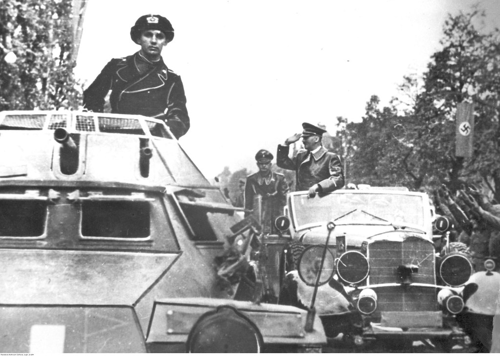 Приезд Адольфа Гитлера в Варшаву