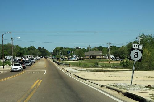 MS8 East Sign - Calhoun City