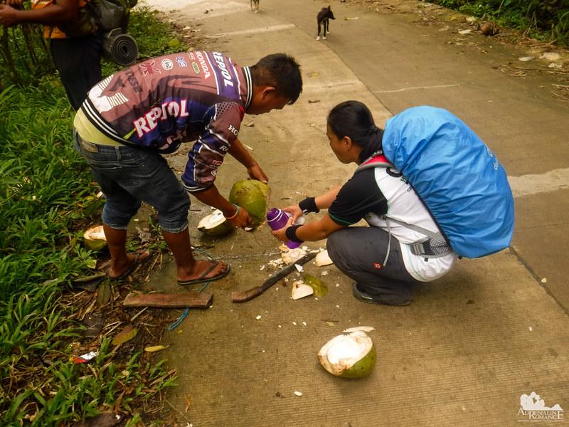 Coconut water is nature's Gatorade