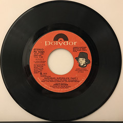 JAMES BROWN:HOT(I NEED TO BE LOVED, LOVED, LOVED)(RECORD SIDE-B)